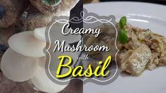 Creamy Mushrooms, Stuffed Mushrooms, Basil, Grains, Link, Recipes, Instagram, Food, Stuff Mushrooms