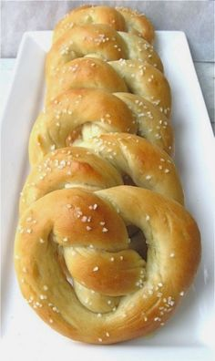 Sourdough Pretzels | There's nothing better than soft, chewy, warm pretzels from a street vendor, except possibly making them yourself, using this easy recipe. You can make these pretzels on a moment's notice, too: the recipe calls for sourdough starter straight from the refrigerator, no need to feed it first.