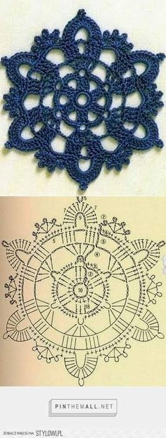 Terrific Free Crochet flowers coaster Ideas Good Cost-Free snowflake Granny Squares Pattern Popular This easy granny rectangular pattern is act Crochet Snowflake Pattern, Crochet Coaster Pattern, Crochet Motif Patterns, Crochet Snowflakes, Crochet Mandala, Crochet Granny, Crochet Poncho, Lace Doilies, Crochet Doilies