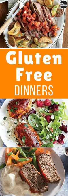 Family favorites go gluten-free in this collection of dinner recipes. Whether someone in your family is gluten-sensitive or you are trying to avoid gluten for health reasons, you can feel good about putting these healthy, satisfying meals on the table tonight. | MyRecipes