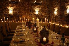 Wine Cellar Wedding at the Biltmore Estate  Amazing candlelight cellar -- so romantic!   | blisshoneymoons.com