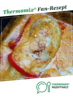 Paprika-Sahne-Hähnchen von Thermielfe. Ein Thermomix ® Rezept aus der Kategorie Hauptgerichte mit Fleisch auf www.rezeptwelt.de, der Thermomix ® Community.