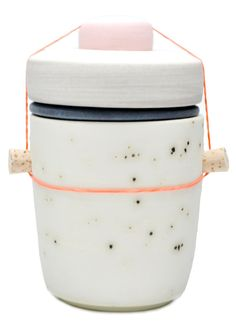 Small Jar in Solar Speckle by Ben Fiess - Leif Shop