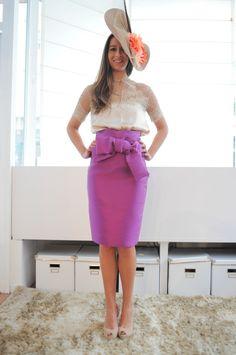 Blusa y falda para boda de dia