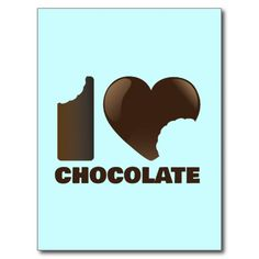 I love chocolate (with bites)