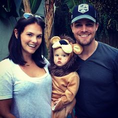 Stephen Amell, Cassandra Jean and Mavi