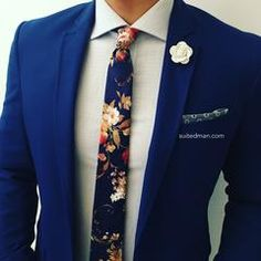 Make your wedding or special event unforgettable with SuitedMan suits and accessories. SuitedMan is a men's fashion house world renowned for its designs, patterns, and stylings Swag Outfits, Boy Outfits, Cute Outfits, Fashion Outfits, Tuxedo Wedding, Wedding Ties, Sharp Dressed Man, Well Dressed, Royal Blue Suit