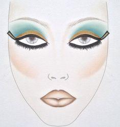 Cleopatra Makeup Tutorial from Inglot