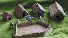 A decent round up of different sources of terrain for your SAGA game.