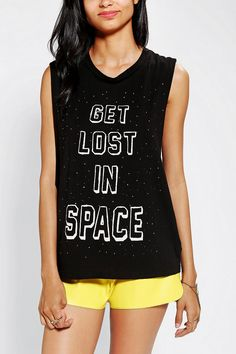 Truly Madly Deeply Space Muscle Tee #urbanoutfitters