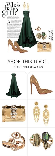 """Who's that girl"" by jkfindulgence ❤ liked on Polyvore featuring Jason Wu, Christian Louboutin, GEDEBE, Dolce&Gabbana, LE VIAN, Alexis Bittar, statementjewelry, gorgeousingown and fashionablyfresh"