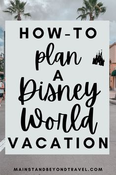 Wondering how to get started planning your magical trip to Walt Disney World? I will show you how in my new video series that will walk you through step by step how to plan your vacation!     #disney #disneyworld #disneytips #disneywallpaper #disneyvacation