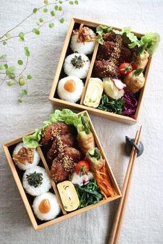 Bento for lunch specials? Bento Recipes, Healthy Recipes, Bento Ideas, Lunch Ideas, Cute Food, Yummy Food, Japanese Dishes, Japanese Food, Japanese Lunch Box