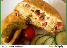detail na řezu Baked Potato, Zucchini, Menu, Potatoes, Chicken, Baking, Vegetables, Breakfast, Ethnic Recipes