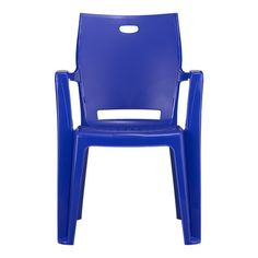 Backyard Blue Stacking Chair from Crate and Barrel $28.01