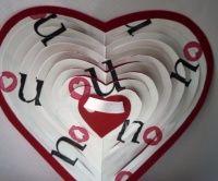Valentýnské 3D přání