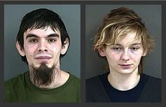 Stephen Williams Jr., 26, of Glendale, Ore., and Amanda Hancock. Williams and Hancock were arrested ... - AP Photo/Douglas County Sheriff's Office