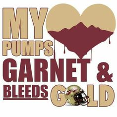 ❤💛 Florida State Football, Florida State University, Florida State Seminoles, College Football, Garnet And Gold, Football Program, Words, Fan, 4 Life