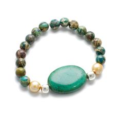 HandPicked: Jasper Beaded Bracelet