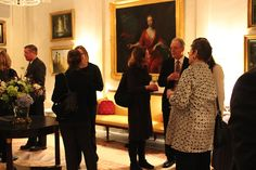 Winterthur, MESDA and The Colonial Williamsburg Foundation hosts a reception at the Baker House during Americana Week in New York (January 2014).