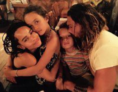 Instagram @prideofgypsies • Momoa and his beautiful children