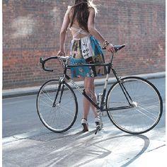 Cycling fashion -fixiegirl.com-