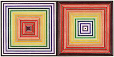 Artwork by Frank Stella, Double gray scramble, Made of Silkscreen in colours Frank Stella, Stella Art, Op Art, Post Painterly Abstraction, Joseph Albers, American Artists, Abstract Expressionism, Amazing Art, Screen Printing
