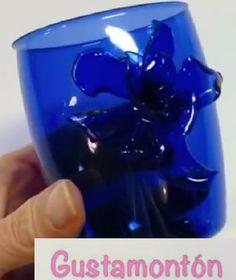 DIY: Envases de plástico reciclados. Recycled plastic containers.
