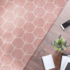 Buy Palm Springs Pink tiles from Porcelain Superstore. Visit our website for great deals on porcelain tiles all with 5 year guarantee. Floor Patterns, Tile Patterns, Hexagon Tiles, Mosaic Tiles, Kitchen Underfloor Heating, Honeycomb Shape, Pink Tiles, Moroccan Tiles, Handmade Tiles