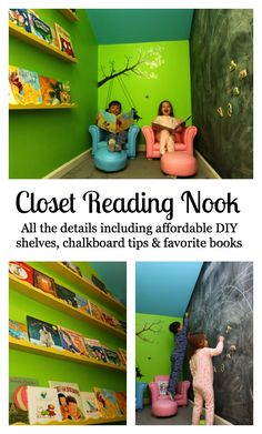 Kids reading nook under stairs reference home Under Stairs Playroom, Under Stairs Playhouse, Closet Under Stairs, Playroom Closet, Under Stairs Cupboard, Closet Library, Kids Library, Playroom Ideas, Reading Nook Closet
