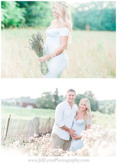 Rustic Chic Maternity Session featuring Sew Trendy Accessories Audrey Gown