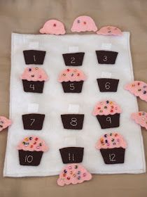 counting sprinkles cupcake page