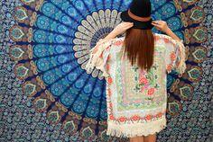Shop our handmade mandalas at www.purplebeetle.com.ph  #mandala #tapestry #roundie #roundmandala #boho #bohemian #freespirit #gypsy #hippie #boholiving