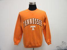 Colosseum Tennessee Vols Volunteers Crewneck Sweatshirt sz S SEWN University #ColosseumAthletics #TennesseeVolunteers #tcpkickz