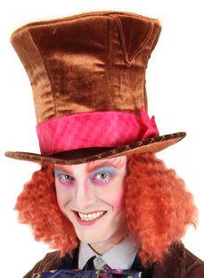 Alice in Wonderland Adult Child Cocktail Mad Hatter Costume Hat Headband Elope