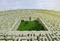 Minecraft Maze Runner by skysworld.deviantart.com on @deviantART