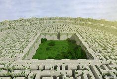 Minecraft Maze Runner by skysworld.deviantart.com on @deviantART
