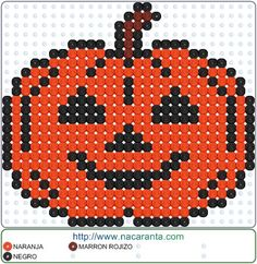 Calabaza EN HAMA BEADS                                                                                                                                                                                 More