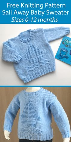Baby Boy Sweater, Knit Baby Sweaters, Boys Sweaters, Knitted Baby Cardigan, Baby Knits, Free Baby Sweater Knitting Patterns, Free Knitting, Free Childrens Knitting Patterns, Crochet Baby Sweater Pattern