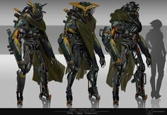 ArtStation - Robot Concept Art / Space Travellers, Fred Augis