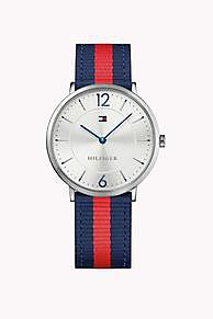 Shop the multi canvas strap watch from the latest Tommy Hilfiger watches collection for men. Free returns