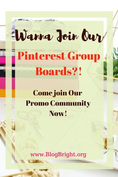 Do you want to drive more traffic to your website? Pinterest group boards are the answer! Come join our group boards to promote your blog today!
