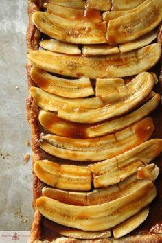 Banana Caramel Tart Tutorial