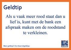 Nog meer Nibud geldtips? Zie nibud.nl/geldtips.