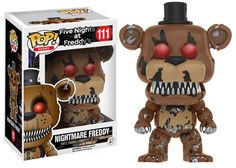 Pre-Order Funko Pop Games Five Nights At Freddy's Nightmare Freddy 106