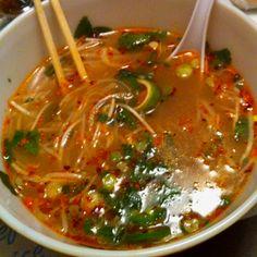 Vietnamese food from down the road.. Pho thai... Sooooooo good