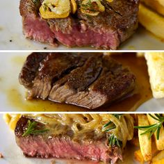 Filet mignon roasted and pears - Healthy Food Mom Steak Recipes, Chicken Recipes, Cooking Recipes, Healthy Recipes, Thai Cooking, Oven Cooking, Asian Cooking, Cooking Oil, Burger Recipes