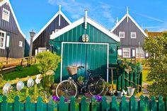 Zaanse Schans, Holanda | Zaanse Schans moinhos perto de Amsterdã Holanda viagem dicas passeios ...