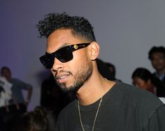 Miguel at Fashion Week in New York