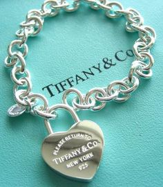 I have always wanted one of these Tiffany & Co. charm bracelets.